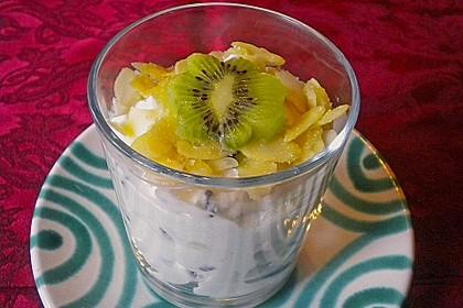 Birnen - Quark - Dessert 9