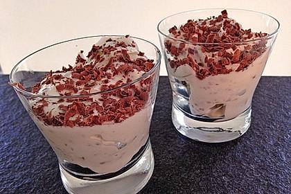 Birnen - Quark - Dessert 1