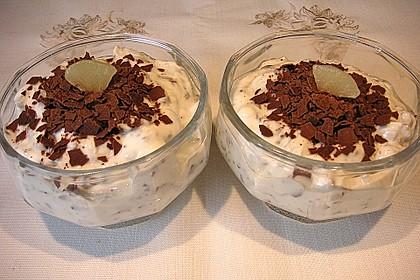 Birnen - Quark - Dessert 8