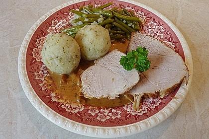 Schweinebraten in Senf - Sahne - Sauce 4