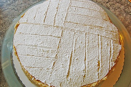 Apfelcreme - Torte