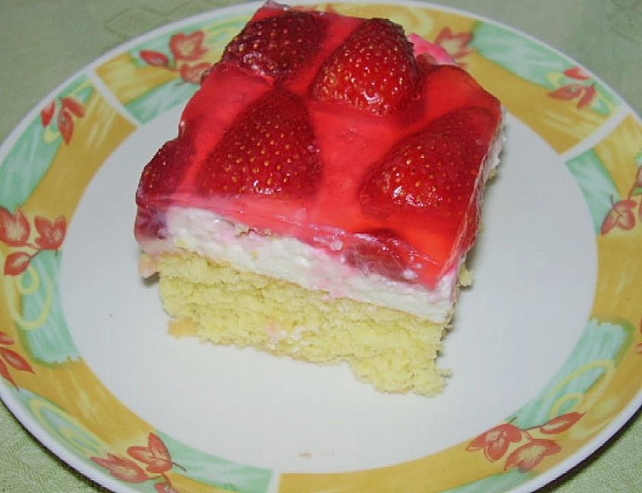 Erdbeer Quark Torte Ein Sehr Leckeres Rezept Chefkoch De