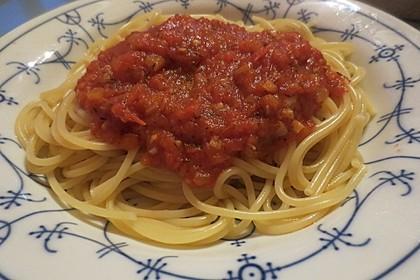 Tomatensugo, hausgemacht 1