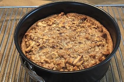 Apfelkuchen mit Walnusscreme 16
