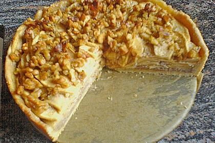 Apfelkuchen mit Walnusscreme 82