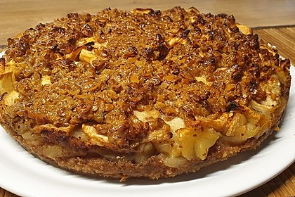 Apfelkuchen mit Walnusscreme 20