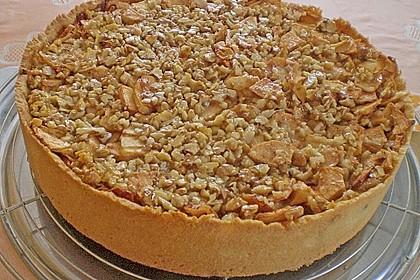 Apfelkuchen mit Walnusscreme 14