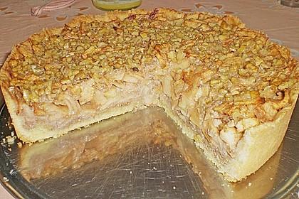 Apfelkuchen mit Walnusscreme 47