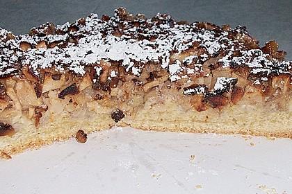 Apfelkuchen mit Walnusscreme 77