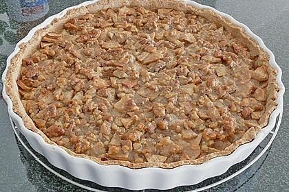 Apfelkuchen mit Walnusscreme 41