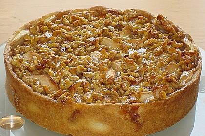Apfelkuchen mit Walnusscreme 5