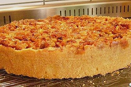 Apfelkuchen mit Walnusscreme 48