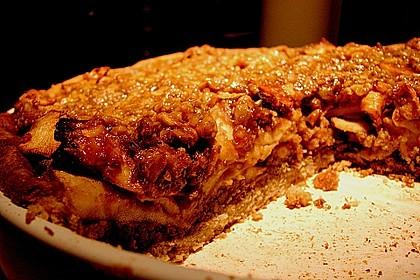 Apfelkuchen mit Walnusscreme 78