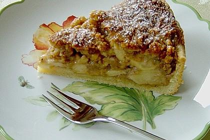 Apfelkuchen mit Walnusscreme 27