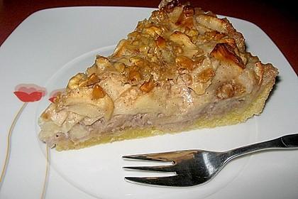 Apfelkuchen mit Walnusscreme 26