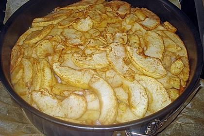 Apfelkuchen mit Walnusscreme 76