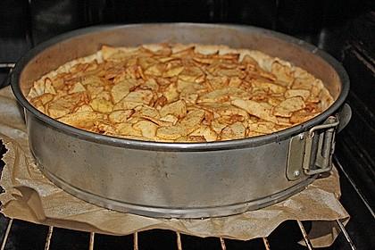 Apfelkuchen mit Walnusscreme 74