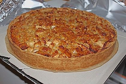 Apfelkuchen mit Walnusscreme 36