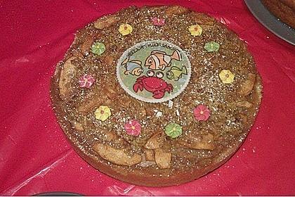 Apfelkuchen mit Walnusscreme 73