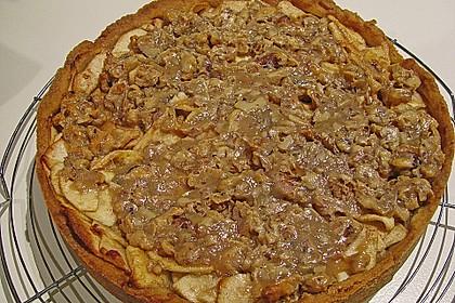 Apfelkuchen mit Walnusscreme 24