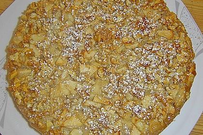 Apfelkuchen mit Walnusscreme 53