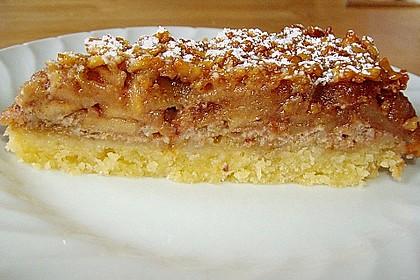 Apfelkuchen mit Walnusscreme 40