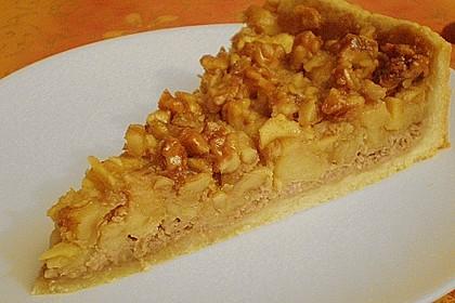Apfelkuchen mit Walnusscreme 30
