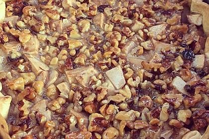 Apfelkuchen mit Walnusscreme 81