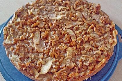 Apfelkuchen mit Walnusscreme 67