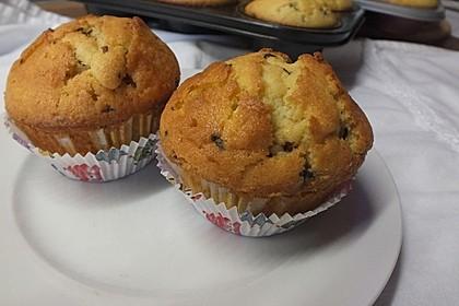 Muffins mit Schokosplittern 16
