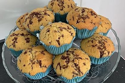 Muffins mit Schokosplittern 8
