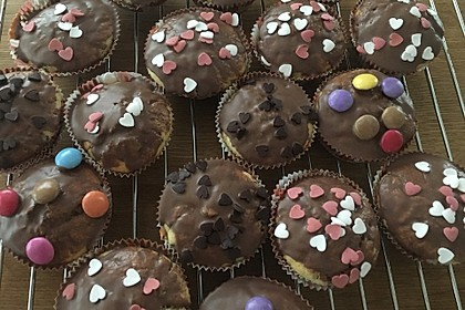 Muffins mit Schokosplittern 28