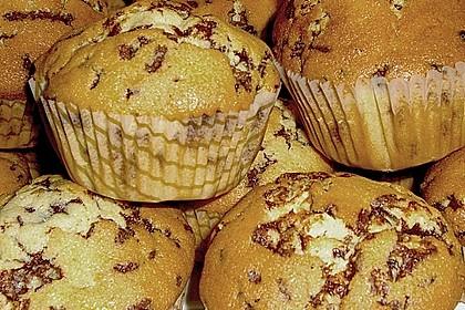 Muffins mit Schokosplittern 35