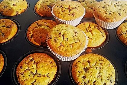Muffins mit Schokosplittern 37