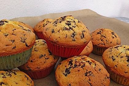Muffins mit Schokosplittern 14