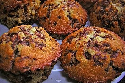 Muffins mit Schokosplittern 44