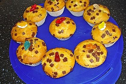 Muffins mit Schokosplittern 38
