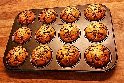 Muffins mit Schokosplittern 22