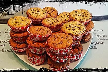 Muffins mit Schokosplittern 55