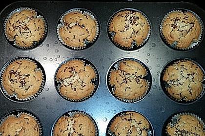 Muffins mit Schokosplittern 45