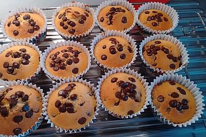 Muffins mit Schokosplittern 58