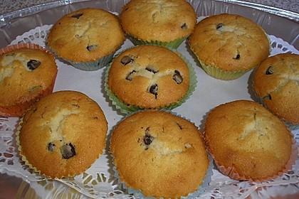Muffins mit Schokosplittern 43