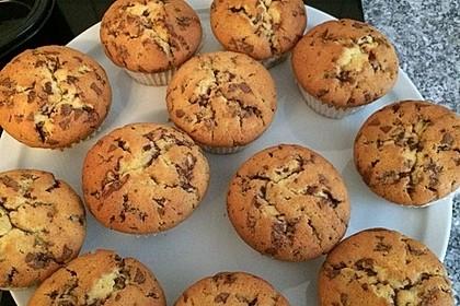 Muffins mit Schokosplittern 57