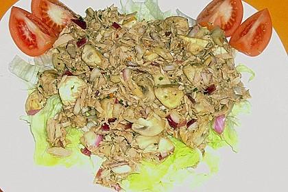 Schneller Champignon - Thunfischsalat von Ille 13