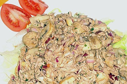 Schneller Champignon - Thunfischsalat von Ille 11