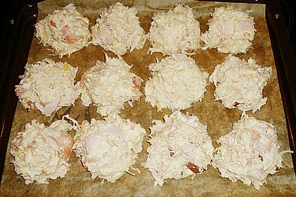 Sauerkrautbrötchen mit Schinken 7