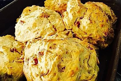 Sauerkrautbrötchen mit Schinken