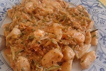 Gnocchi - Zucchini - Pfanne mit Schafskäse 58