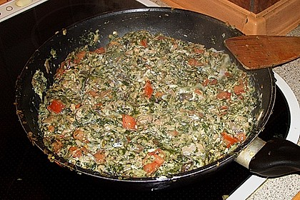 Gnocchi - Zucchini - Pfanne mit Schafskäse 87