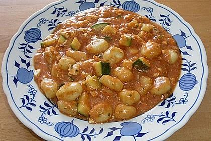 Gnocchi - Zucchini - Pfanne mit Schafskäse 51